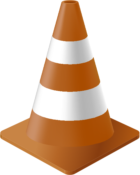 traffic_cone_brown