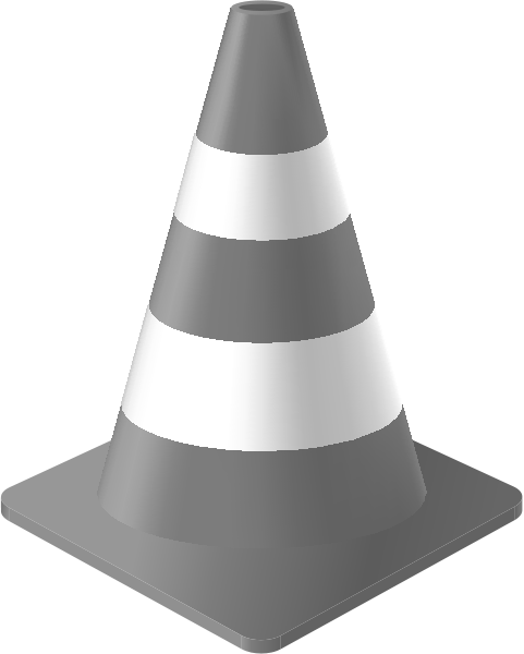traffic_cone_light_gray