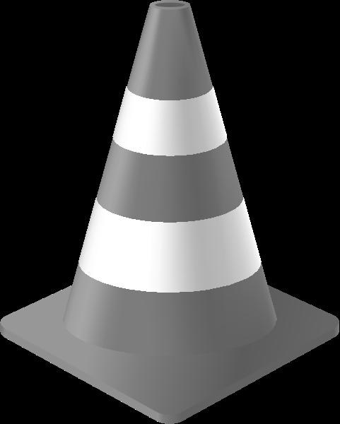 traffic_cone_light_gray