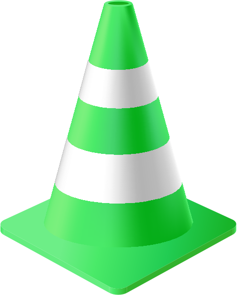 traffic_cone_light_green