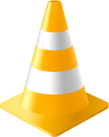 Yellow Traffic Cone vector data for free